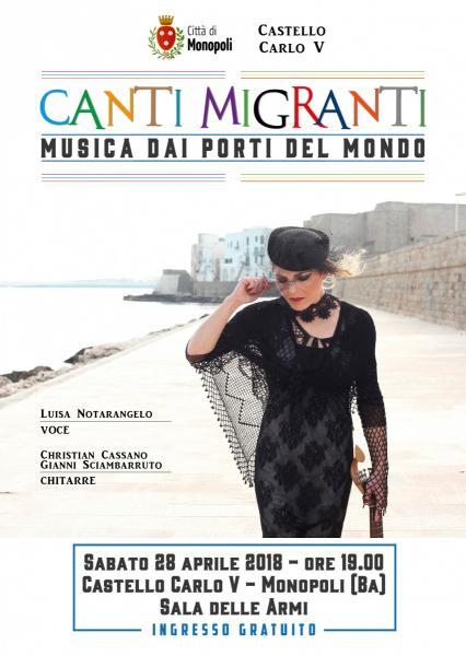 Canti Migranti Musica dai porti del mondo