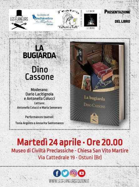"""La Notte di Inchiostro di Puglia - Ostuni presenta """"La bugiarda"""""""