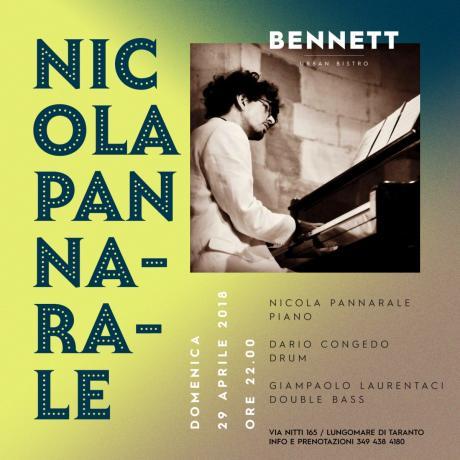 Nicola Pannarale live al Bennett