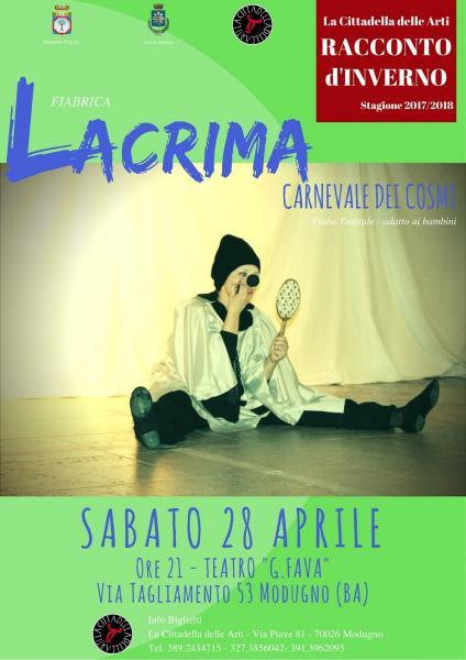 LACRIMA - Carnevale dei Cosmi
