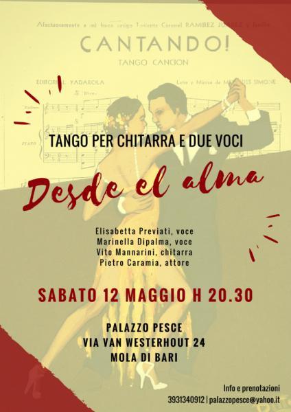 Desde el alma [tango per chitarra e due voci]