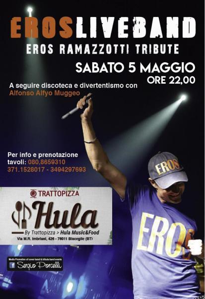 EROS Liveband eros ramazzotti tribute a Bisceglie