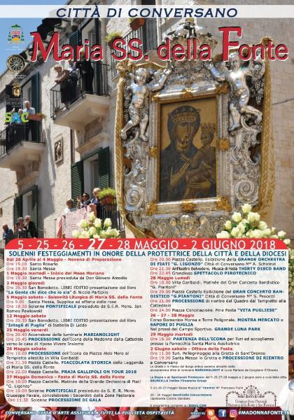 Festa Patronale: Madonna della Fonte 2018