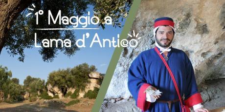 1° maggio a Lama d'Antico: tintoria e visita guidata