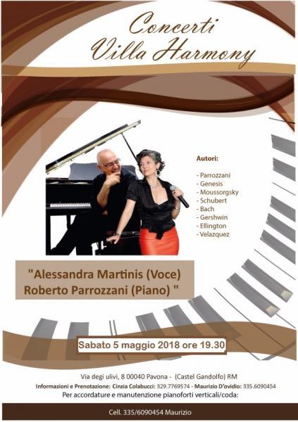 """05.05.2018 """"Concerto Promenade"""" del duo """" Note in Salotto"""""""