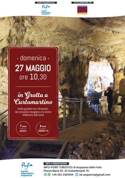 Visita guidata in Grotta a Curtomartino