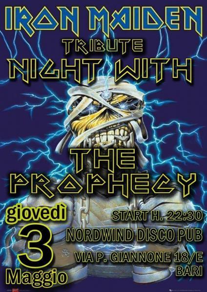The Prophecy - Iron maiden tribute al Nordwind discopub