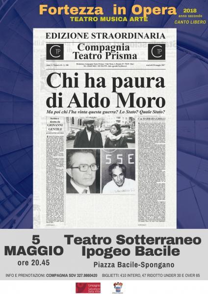 CHI HA PAURA DI ALDO MORO scritto e diretto da Giovanni Gentile