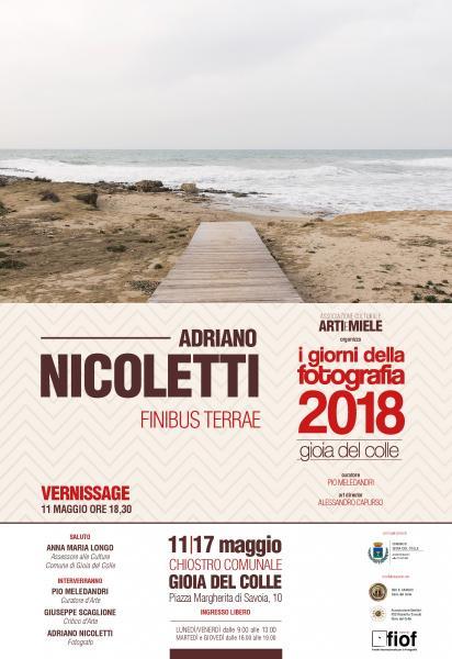 I Giorni della Fotografia - Gioia del Colle #1 Adriano Nicoletti