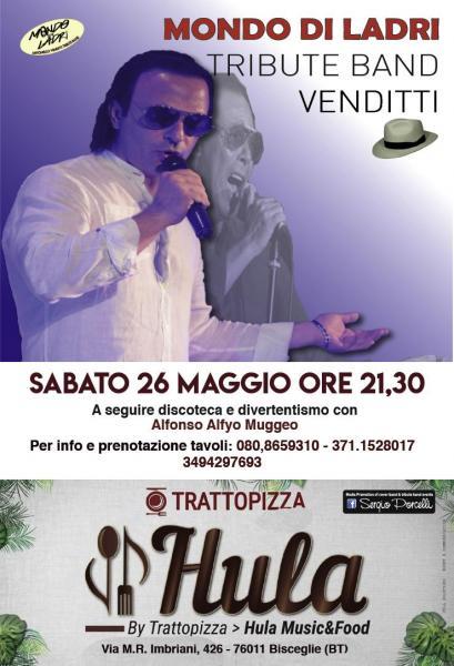 Mondo Di Ladri Antonello Venditti Tribute Band a Bisceglie