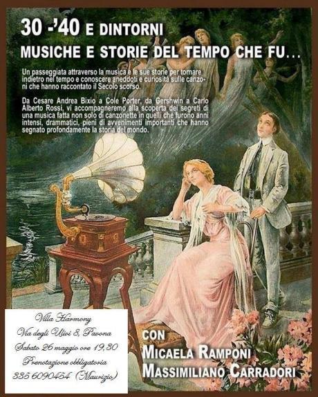 Concerto del Duo M. Carradori (piano) - M. Ramponi (canto)
