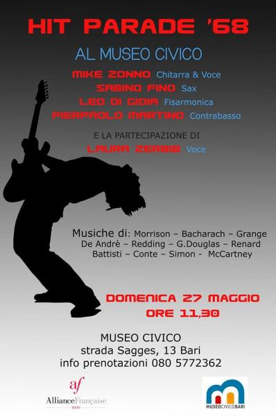 """Hit Parade 1968"" al Museo Civico di Bari"