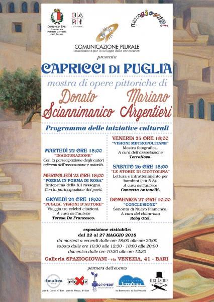 Capricci di Puglia - mostra di pittura con eventi multiculturali -