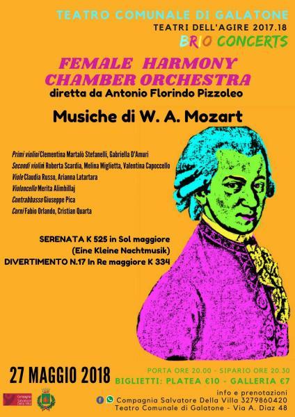 Mozartiana - Female Harmony Chamber Orchestra