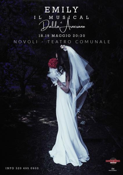 """Debutto a teatro per """"Emily"""", musical inedito scritto e diretto da Dalila Arnesano con la produzione di Studio Novae"""