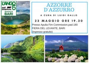 Incontri con i viaggiatori: AZZORRE d'AZZURRO.