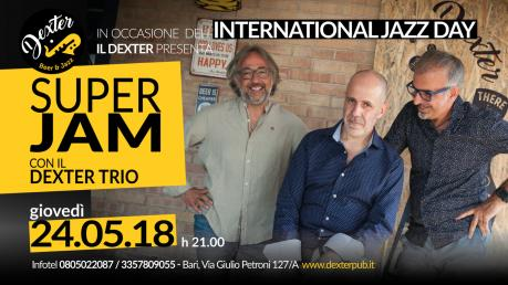 Il Dexter presenta: Super Jam con il Dexter Trio