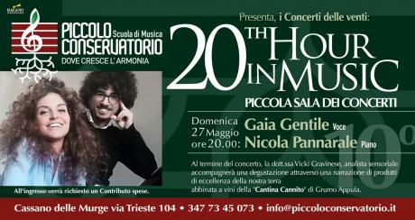 20th Hour in Music: Gaia Gentile e Nicola Pannarale