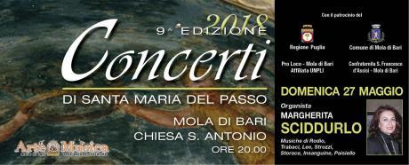 """5° Concerto del Festival Organistico Internazionale """"Santa Maria del Passo"""""""