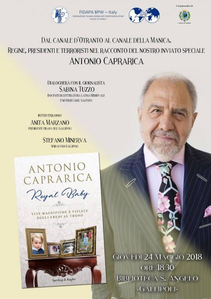 Incontro con il giornalista e scrittore Antonio Caprarica
