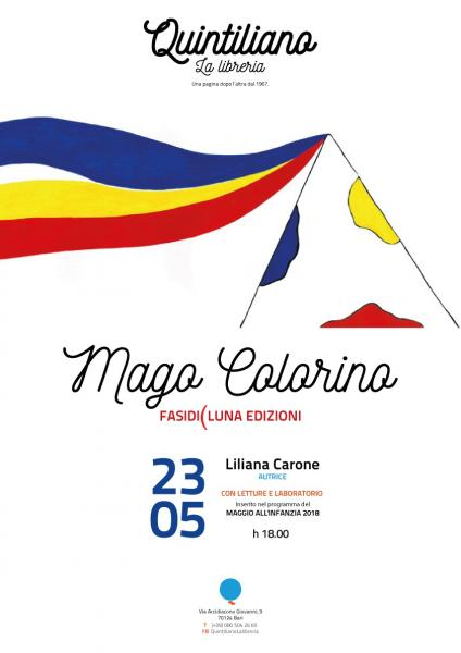 MAGO COLORINO di Liliana Carone - lettura e laboratorio