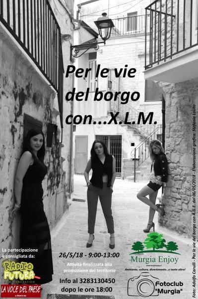 Per le vie del borgo con XLM