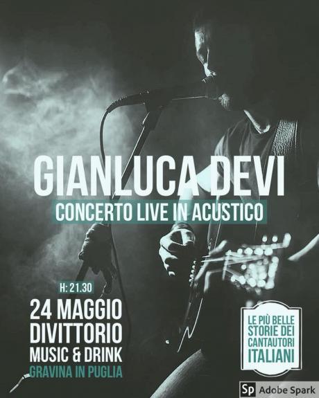 Gianluca Devi - Tributo ai Cantautori Italiani