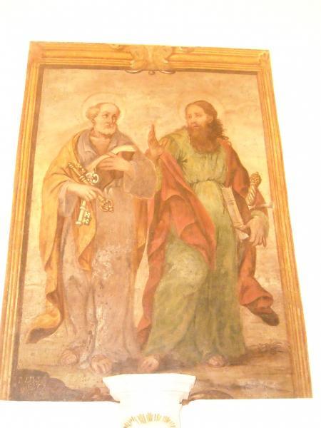 Ricorrenza dei Santi Pietro e Paolo nella chiesa di San Pietro dei Greci
