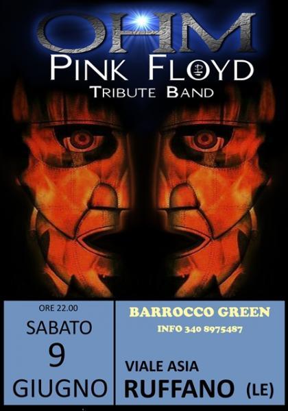 OHM PINK FLOYD LIVE - RUFFANO (LE) - BARROCCO GREEN