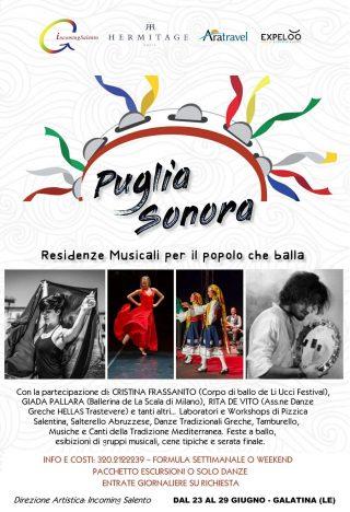 Puglia sonora - Residenze musicali per il popolo che balla