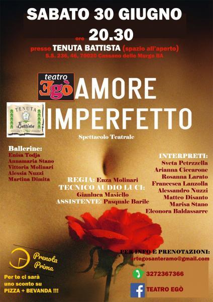 Spettacolo Teatrale: Amore Imperfetto!
