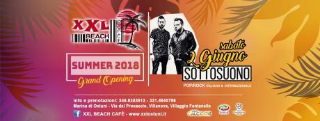 SottoSuono Band Live at XXL BEACH CAFE