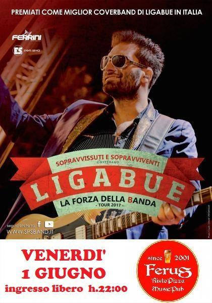 Ligabue special tribute con i Sopravvissuti E Sopravviventi