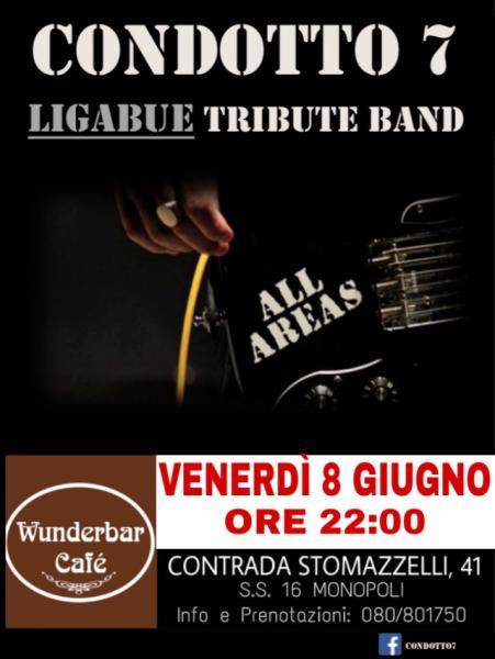 Wunberbar cafè  music live presenta  Condotto 7 LIGABUE tribute band