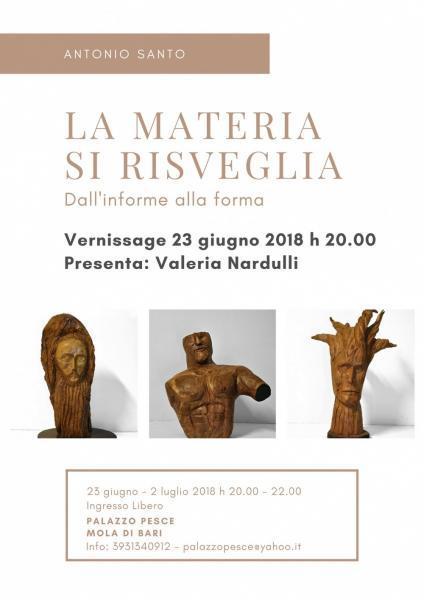 La Materia si risveglia [Mostra di sculture in legno]