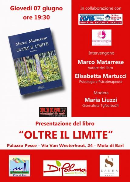 """Presentazione del libro """"Oltre il limite"""""""