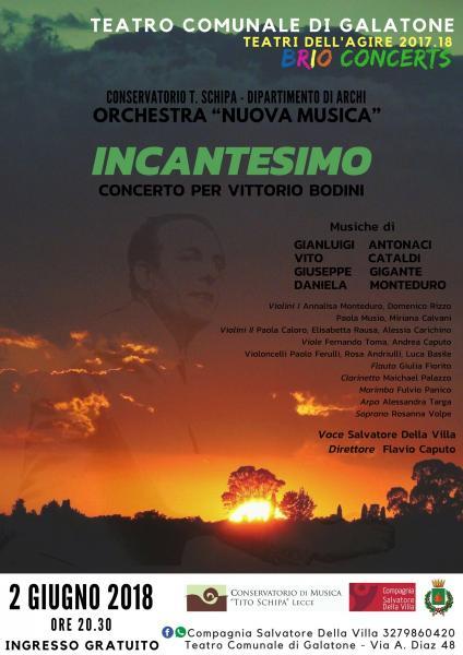 Incantesimo - Concerto per Vittorio Bodini