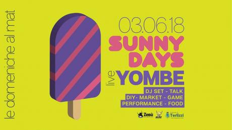 Sunny Days #1: live djset talk DIY market game food