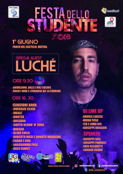 Festa dello Studente 2018 w/ Luché