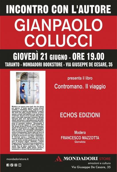 Incontro con l'autore Gianpaolo Colucci