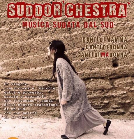 """""""Sudor'chestra - Musica sudata dal Sud"""" in concerto sabato 30 giugno a La'nchianata di Torricella (Ta)."""