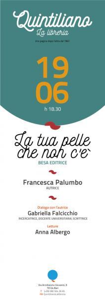 La tua pelle che non c'è di Francesca Palumbo