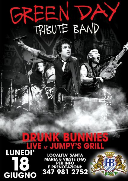 GREEN DAY tribute live at JUMPY'S GRILL