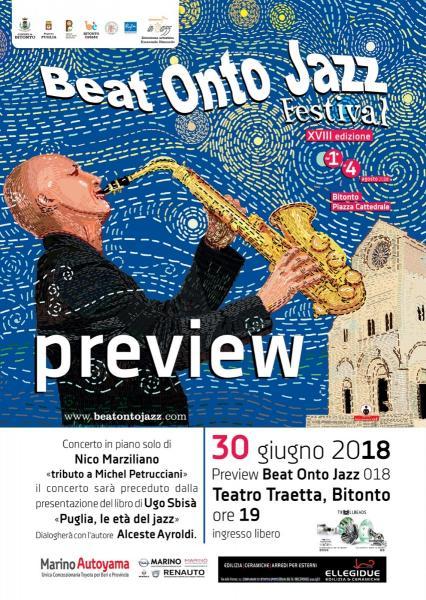 Anteprima Beat Onto Jazz Festival 2018