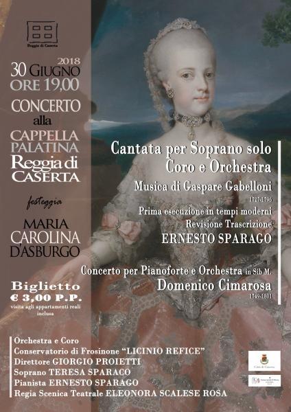 Cantata per Soprano solo Coro e Orchestra
