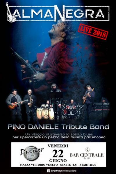 Almanegra Pino Daniele Tribute Band al Dinner Caffè e Bar Centrale
