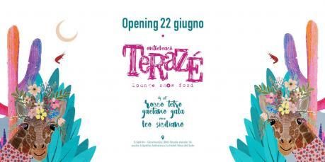 Venerdì 22.06 Opening Terazè #onthebeach (c/o Riva del Sole Giovinazzo)