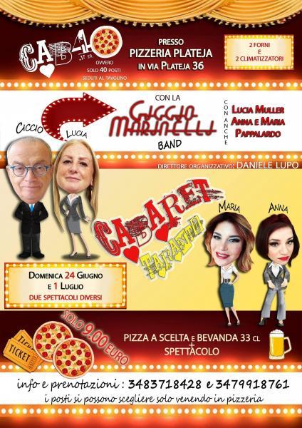 Si ride e si Cena Con Ciccio Marinelli In Pizzeria