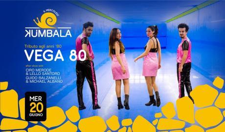 Il mercoledì Kumbala con Vega80 in concerto. A seguire il party con numerosi dj a rotazione!