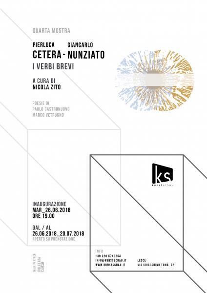 Pierluca Cetera / Giulio Giancarlo Nunziato - I Verbi Brevi a cura di Nicola Zito